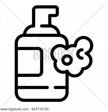 Korean Cosmetics Dispenser Icon. Outline Korean Cosmetics Dispenser Vector Icon For Web Design Isola