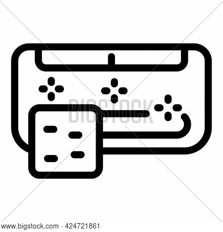 Repair Air Conditioner Freon Icon. Outline Repair Air Conditioner Freon Vector Icon For Web Design I