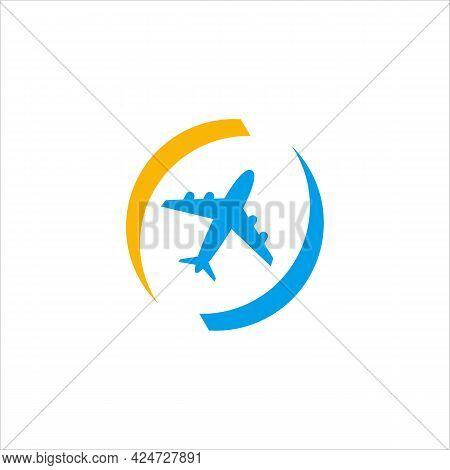 Travel Logo Icon Vector Template, Vector Logo Design Templates For Airlines,