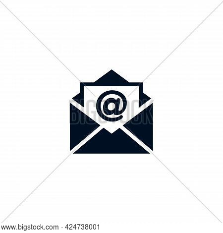 Email Icon Isolated On White Background From Customer Service Collection. Email Icon Trendy And Mode