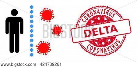 Covid Antivirus Wall Icon On A White Background. Isolated Covid Antivirus Wall Symbol With Flat Styl