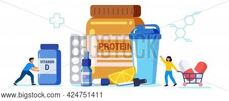 Sports Nutrition Anabolic Steroids Doping Test Protein Cocktail Nutrition Help Replenish Body Vitami