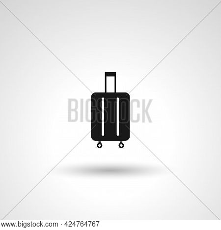 Luggage Sign. Luggage Isolated Simple Vector Icon