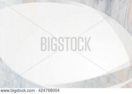 Textured light gray curve frame template
