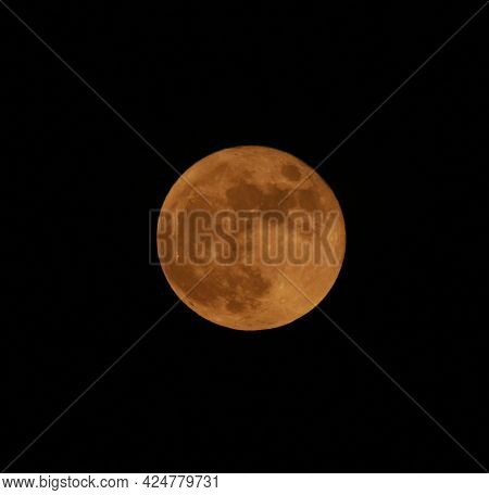 Strawberry Moon June 24, 2021 Harvest Moon Full Moon
