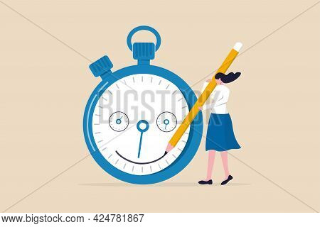 Time Management, Manage Project Deadline, Improve Work Efficiency Or Productivity To Finish Project