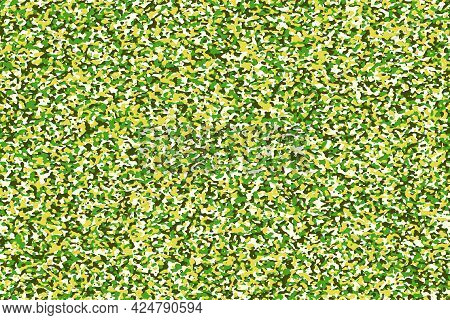 Abstract Background With Green Camouflage Pattern For Design