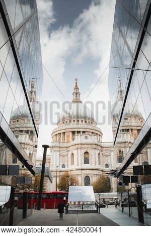 St. Paul's Cathedral in central London, United Kingdom
