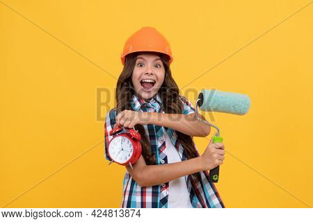Time For Decoration. Kid Education. Renovation Work. Time To Renovate. Deadline Extended.
