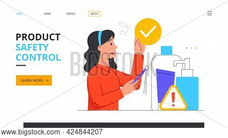 Product Safety And Quality Control Concept. Defective Product Testing, Inspection, Customer Feedback