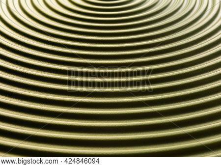 Abstract Background Green Texture With Concentric Circles, Circles, Divergent Circles