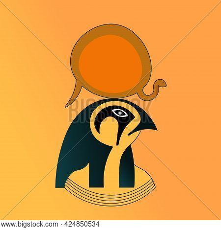 Ra. The Ancient Egyptian God Of The Sun.