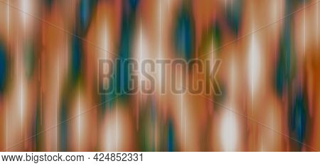 Brown Green Blue Festive Background With Blur And Gradient. Space For Graphic Design And Creative Id