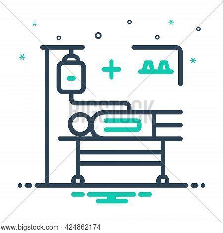 Mix Icon For Incidence Phenomenon Accident Occurrence Phenomena Treatment Medical