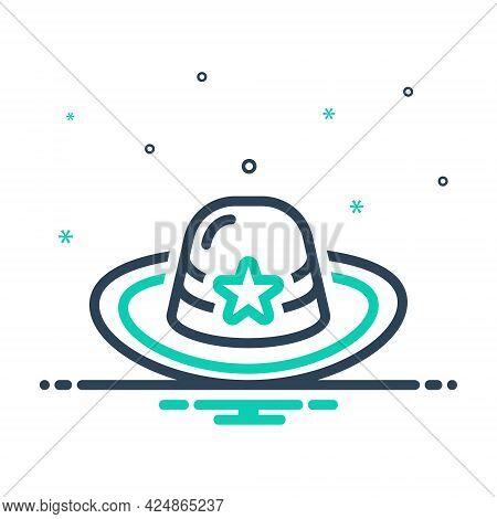 Mix Icon For Hat Cap Headgear Mutch Detective