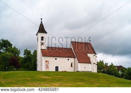 Filialkirche Eisenreichdornach Early Gothic Roman Catholic Church In Amstetten, In The Mostviertel R