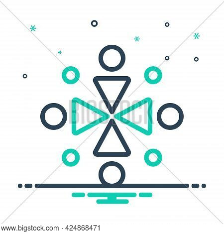 Mix Icon For Ingathering Gathered Conjunct United Aggregate Collected