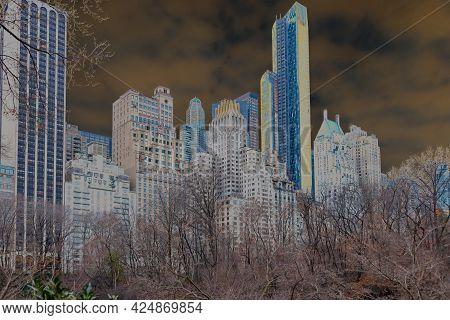 Apocalyptic Radioactive Overgrown New York City, Special Effect