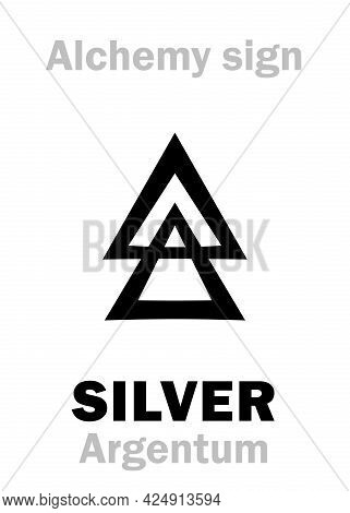 Alchemy Alphabet: Silver (argentum, Luna; Artemis) -- Metal Of The Moon, Precious/noble/value Metal,