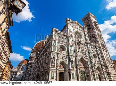 Basilica Di Santa Maria Del Fiore In Firenze, Italy.