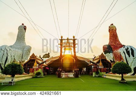 Wat Chedi(ai Khai), Nakhon Si Thammarat Province, Thailand March 16, 2021: Ai Khai Is A Sacred Objec