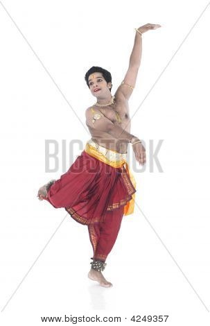 Male Dancer Of India