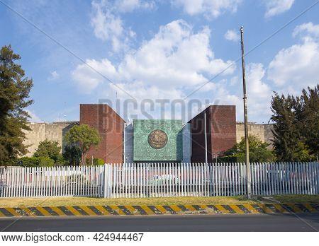 Mexico City - Jan. 15, 2020: Legislative Palace Of San Lazaro In Mexico City Cdmx, Mexico. This Buil