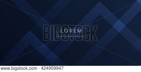 Abstract Blue Geometric Diagonal Overlay Layer Background. You Can Use For Ad, Poster, Template, Bus