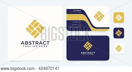 Abstract Modern Logo Design Concept. Logo Can Be Used For Icon, Brand, Identity, Symbol, Clean, Crea