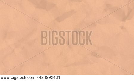 Abstract Beige Sheet Of Paper Crumpling With A Stop Motion Effect, Seamless Loop. Animation. Waterco
