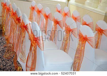 Orange Ribbons