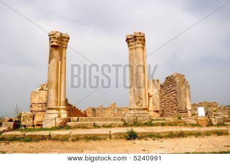 The Column House, Volubilis, Morocco