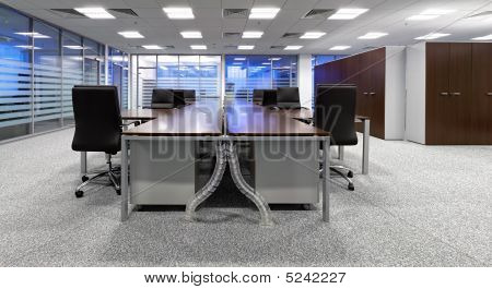 A Modern Office Interior