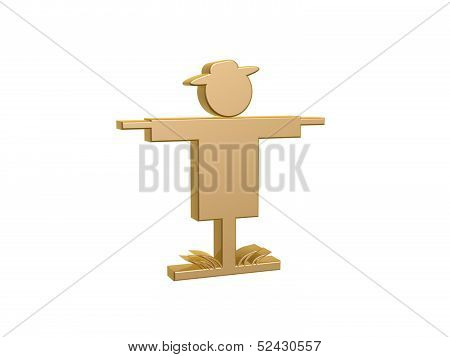 Golden Jackstraw Symbol