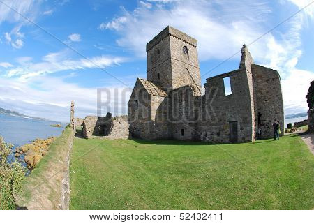 Abbey at Inchcolm