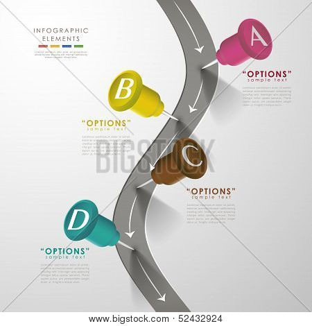 Vector Abstract Infographics