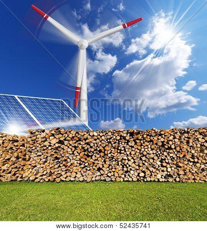Renewable Energies Concept