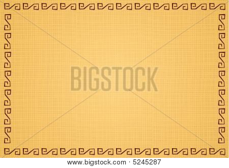 Vector illustration of ethnic background