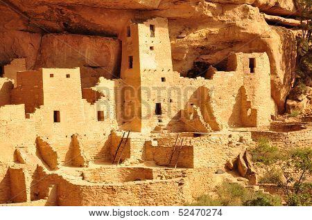 Cliff Palace Mesa Verde National Park USA poster