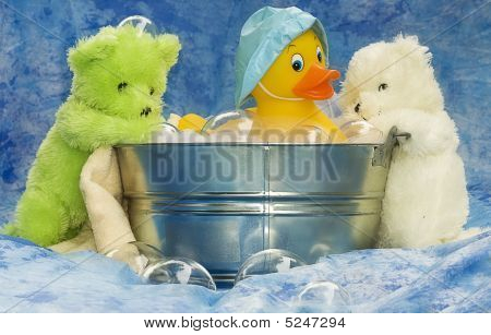 Tub And Animals Bath