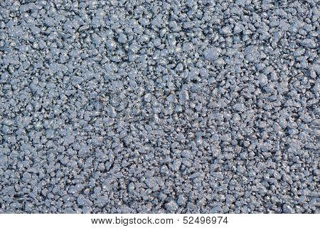 Textured image of new asphalt
