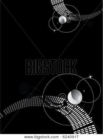 Dark Glam Abstract Background