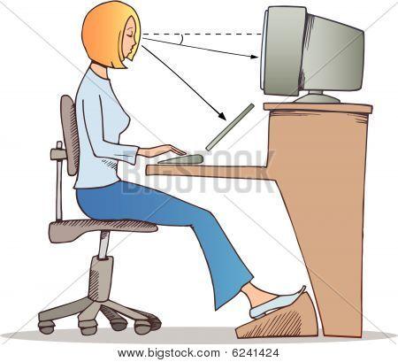 ordnungsgemäße Arbeitsweise auf computer