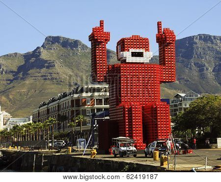 Coca-cola-crate Man