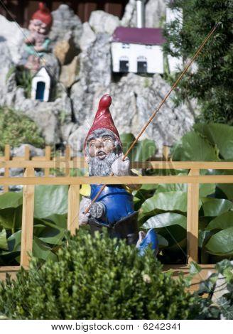 Fishing Garden Gnome