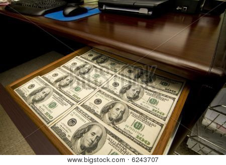 Drawer Full Of Money