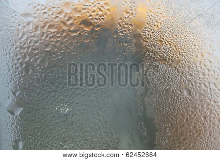Water Drops For Texture And Background