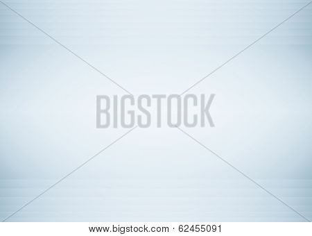 Abstract illustration background texture with light gray gradient wall. Black and white interior structure with billboard. Steel blue sides of empty plates. Successful space for your text and picture.