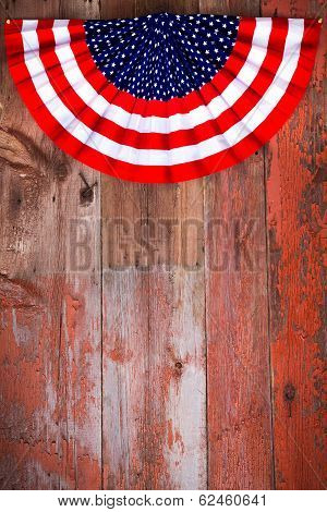Independence Day Patriotic Rosette