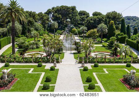 Gardens Of Villa Ephrussi De Rothschild
